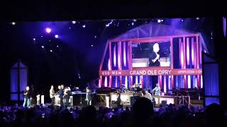 And more country music at the Grand old opry in Nashville Tennessee