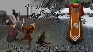 Sosolid2k gets 120 Dungeoneering - Runescape