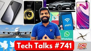 Tech Talks #741 Mi9 Camera Details, ACT Fibernet, AirBus A380, Dubai Airport Drone, Whatsapp