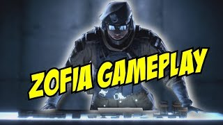 Rainbow Six Siege Zofia Gameplay Gadget Ability Operation White Noise Polish Operator