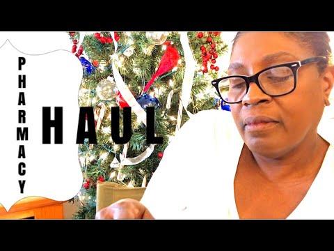 Menopause  !   Mature Woman  !     Pharmacy Haul