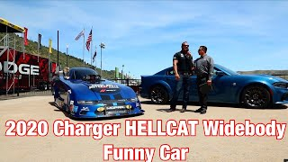 2020 HELLCAT Charger WideBody Funny Car Body Launch - Press Release
