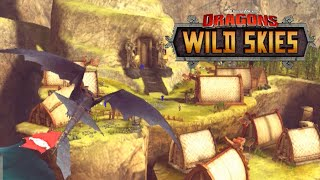 AMAZING GRAPHICS!!! Dragons: Wild Skies - Part 1
