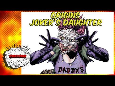 Joker's Daughter Origins