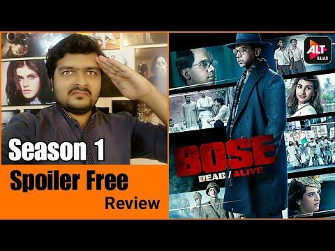 Bose: Dead/Alive | Season 1 - Review | E1 To E9 | Spoiler Free