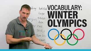 Learn Vocabulary: Sports of the Winter Olympics