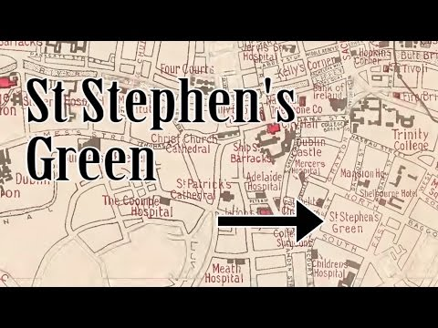 Sites of 1916: St Stephen's Green & the Royal College of Surgeons