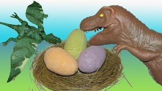Dinosaur Eggs Fizzing  Surprise Eggs Hatching Egg and Dinosaur Battle Mp3