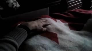 Кошке Няше холодно, она легла поспать)))
