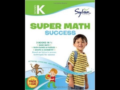 Sylvan Learning Super Math Success Level K 3 Books In 1 Jaslyn Tv