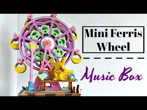 DIY Moving Ferris Wheel Music Box Kit