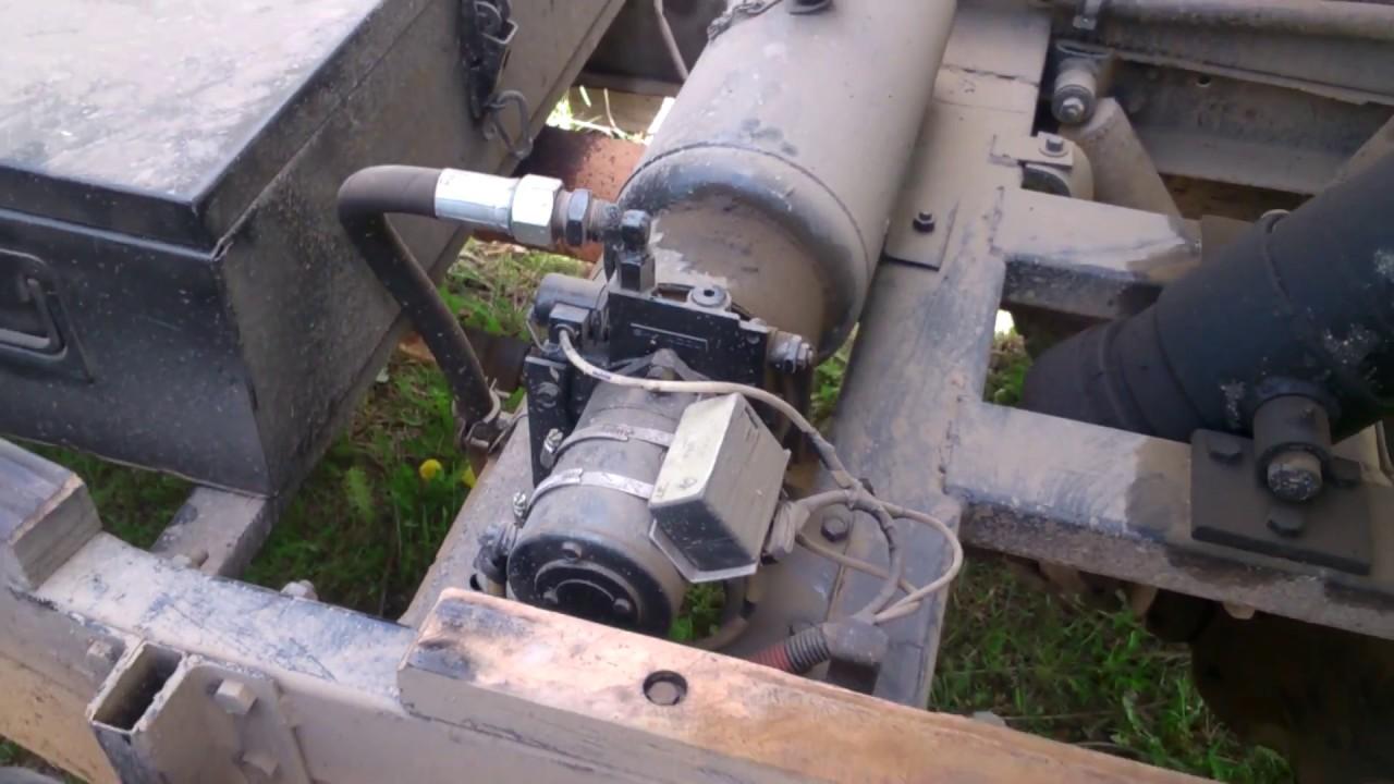 УАЗ 3303 Самосвал самоделка. Детали