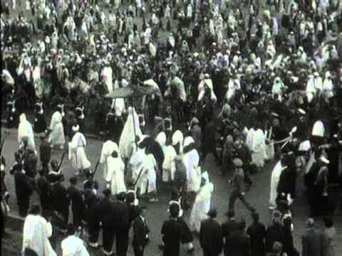 Le roi Hassan II lors de l'Aïd el-Fitr 1962