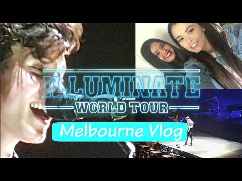 Shawn Mendes Illuminate Tour Melbourne | Concert Vlog
