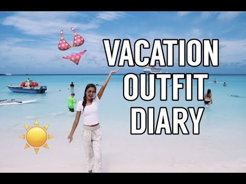 CRUISE VACATION OUTFIT DIARY: Bahamas & Turks & Caicos Edition