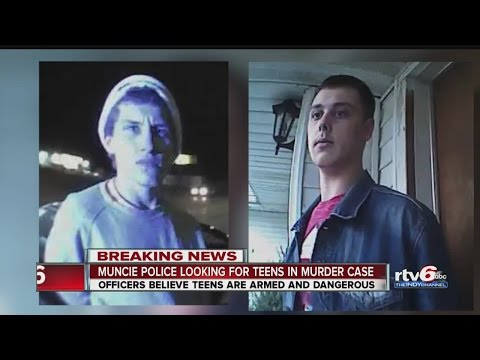 Muncie police looking for teens in murder case
