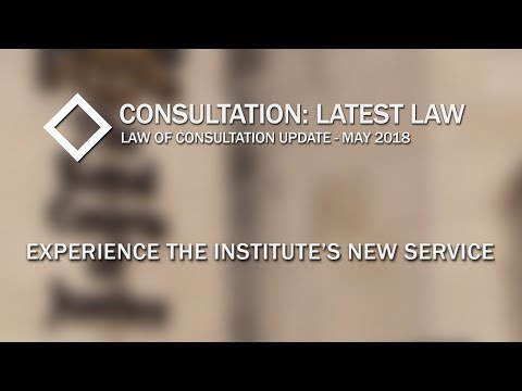 Consultation:  Latest Law -  Episode 1