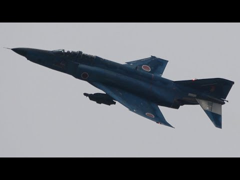 新田原基地航空祭2017 RF-4 戦術模擬偵察 JASDF Nyutabaru Air Show