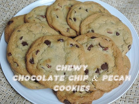 Chewy Chocolate Chip & Pecan Cookies! (Cookie Series #1)   Ep #116
