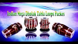 Indian Mega Dholak Tabla Loops Packs Sunil Styler
