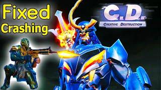 Update* Crashing Fixe | New Dawn Breaker Mech Samurai (Creative Destruction)