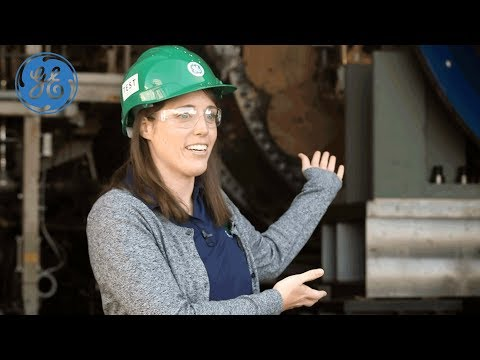 How GE Tests The World's Largest Gas Turbines With Ashley Meenaghan | GE Power