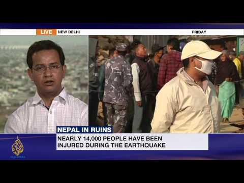 Nepal in ruins: One week after the quake
