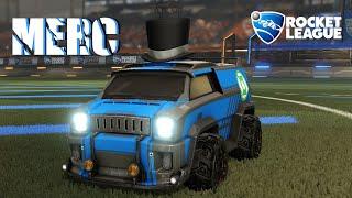 Merc | Mann Field | Car Preview | Rocket League