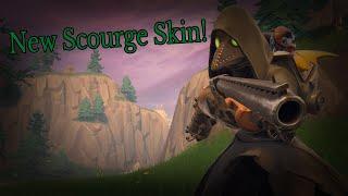 New Scourge Skin Gameplay! - Fortnite Battle Royale - Gameplay