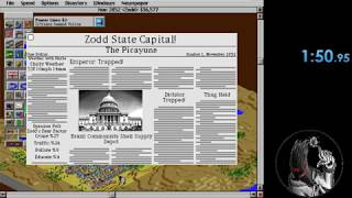 SimCity 2000 (DOS) speedrun in 1:37.35