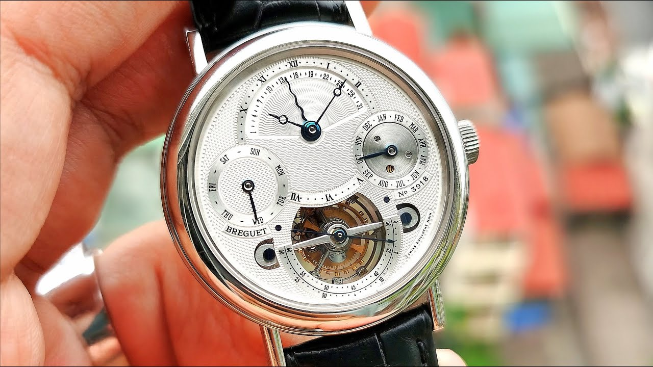 [Siêu Phẩm] Breguet Tourbillon Perpetual Calendar Platinum 950 40mm 3757PT/1E/9V6   ICS Authentic
