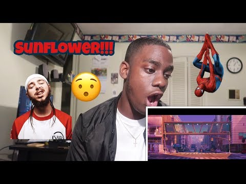 A MUST SEE!!! POST MALONE, SWAE LEE - SUNFLOWER |Spider-Man: Into the Spider-Verse| REACTION!!!