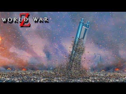1.000.000 ЗОМБИ ОБРУШАТ СЕЙЧАС НЕБОСКРЁБ! СПАСАЕМ ТОКИО ОТ ХОДЯЧИХ В WORLD WAR Z