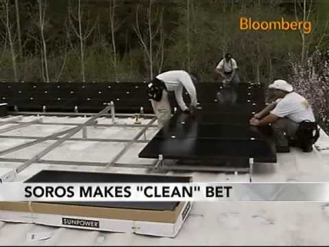 Soros to Invest $1 Billion in Clean-Energy Technology: Video