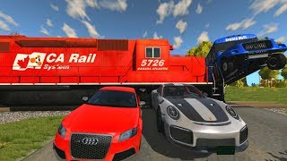 Train Accidents - Beamng drive