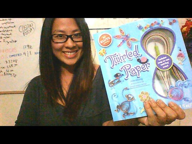 [Review] Klutz Twirled Paper Kit