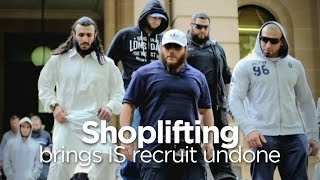 IS recruit's shoplifting at Big W tipped off authorities