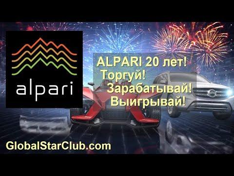 Форекс брокеру Alpari 20 лет - Торгуй! Зарабатывай! Выигрывай!