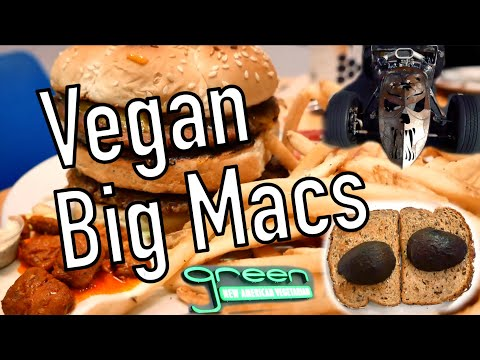 Tasting The Vegan Big Mac - What I Eat In A Day 150 Grams Of