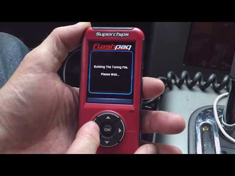 Tuning with SuperChips FlashPaq Performance Tuner