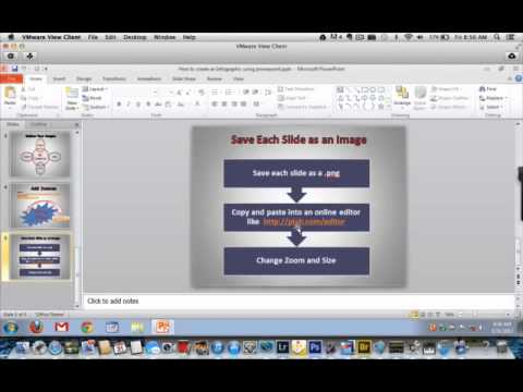 How to Create an Infographic with PowerPoint - YouTube