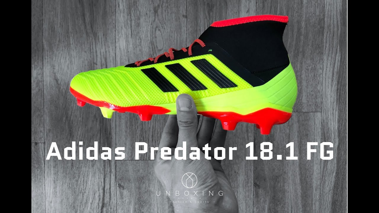 hot sale online fd684 877c6 Adidas Predator 18.1 FG  Energy Mode Pack    UNBOXING   ON FEET   football  shoes   4K