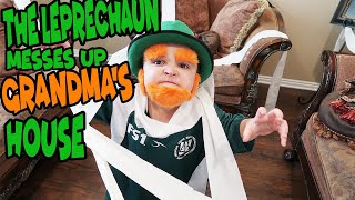 The LEPRECHAUN messes up GRANDMAS HOUSE!