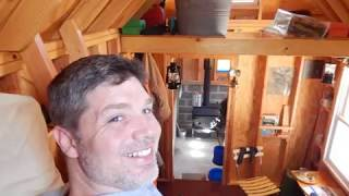 My Tiny House Cabin In Allegan Woods, Michigan. Youtube Removed The Audio!