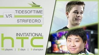 Hearthstone: HTC Invitational - D2 RO4: TidesofTime vs Strifecro