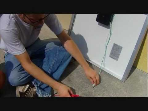 schumacher battery charger wiring diagram esse electric cooker how to test a solar panel youtube