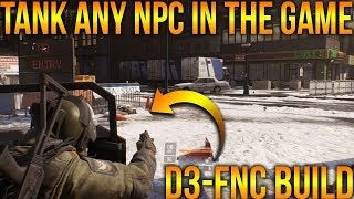 THE BUILD THAT WILL TANK ANY NPC | HOW TO BUILD D3-FNC FOR PVE | MAXIMUM SURVIVABILITY