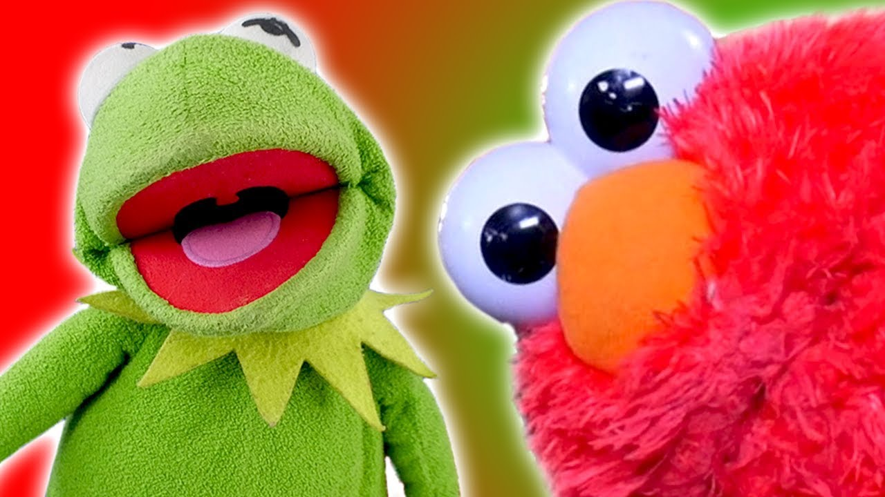 Funny Kermit The Frog: Elmo And Kermit The Frog's Funniest Moments 2017!