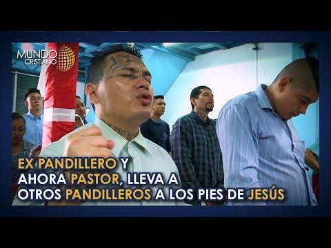 Jesús fue la salida para pandilleros en El Salvador