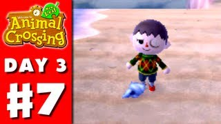 Animal Crossing: New Leaf - Part 7 - Selling Shells (Nintendo 3DS Gameplay Walkthrough Day 3)